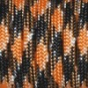 Paracord (Паракорд) 550 - Black saffron yellow camo