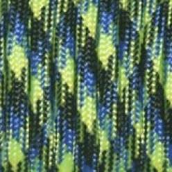 Paracord (Паракорд) 550 - Blue green camo