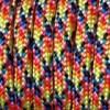 Paracord (Паракорд) 550 - Bright rainbow