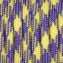 Paracord (Паракорд) 550 - Purple yellow camo