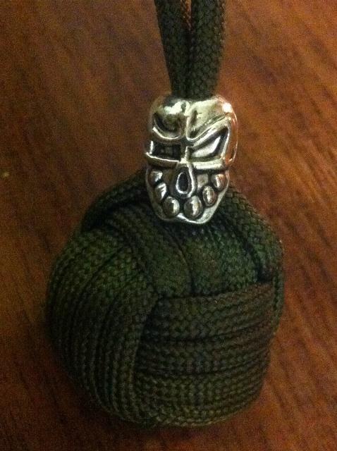 Monkey fist_Army_green_Череп_зубастый