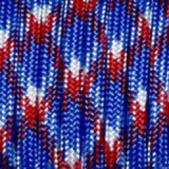 Paracord (Паракорд) 550 - Red blue white camo