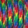 Paracord (Паракорд) 550 - Red green yellow blue camo