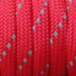 Paracord (Паракорд) 550 - Reflective - Red